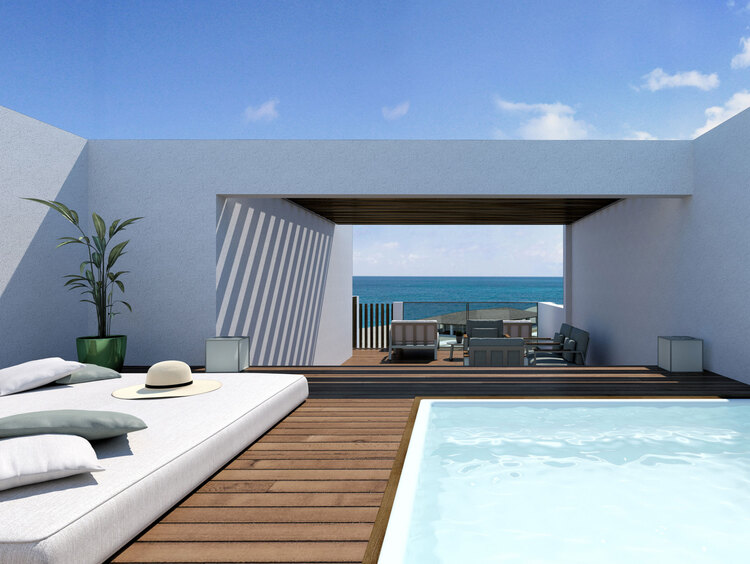 Rooftop Terrace Suite in Punta Cana