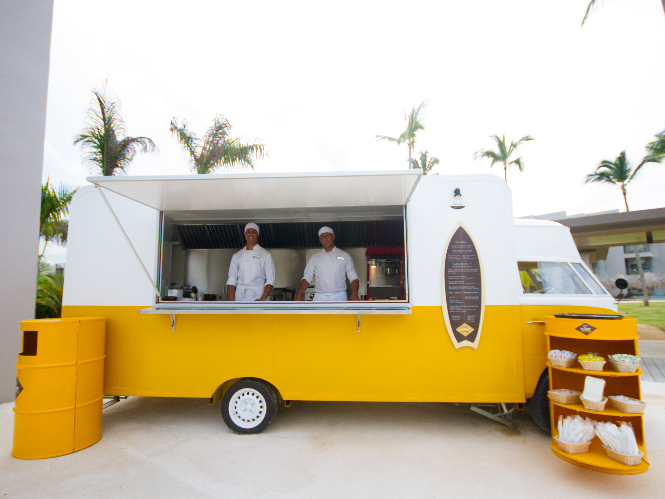 Food Trucks at a Punta Cana Resort